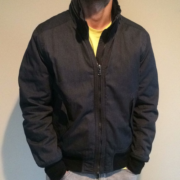 50 Off Hm Other Hm 40r M Navy Quilted Bomber Jacket From As